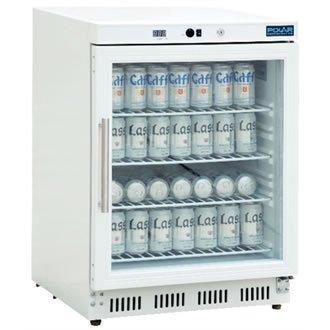 Polar cd086Display Glas Tür Kühlschrank, 150l