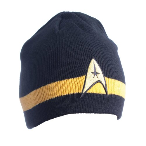 Star Trek Command Beanie (gelb) (Star Trek Schuhe)