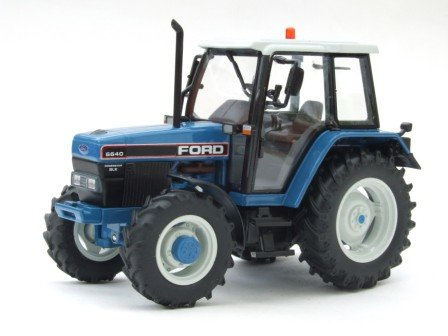 Ford Powerstar 6640 SLE 4WD [ROS 30132·0], Tractor, Limited Edition,