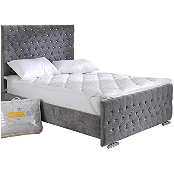 71e679fb86 Bedding Direct UK Temperature Balance Mattress Topper Climate Control with  Springcell Technology - Double