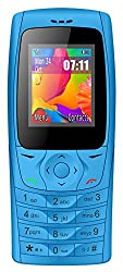 I KALL K6610 Dual Sim 1.8 Inch Display Basic Feature Mobile Phone with Bluetooth, FM, Flash Light, GPRS, 1000 mAh Battery- Sky Blue