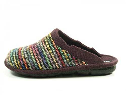 Romika - Mikado 96, Pantofole Donna Mehrfarbig (Multicolor (900))