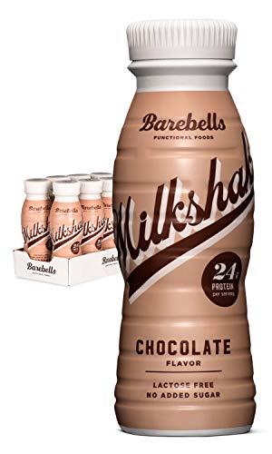 Barebells Protein Milkshake Chocolate 8 x 330 ml| Mit hohem Proteingehalt | Ohne Zuckerzusatz |...