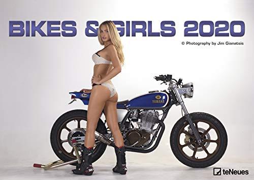 Bikes & Girls 2020 - Wandkalender - Jim Gianatsis - 42x29,7cm - Motorradkalender - Erotikkalender - Fotokalender
