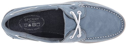 Chaussures Bateau Sperry Ao 2 Eye Washable Bleu Ciel Homme Bleu