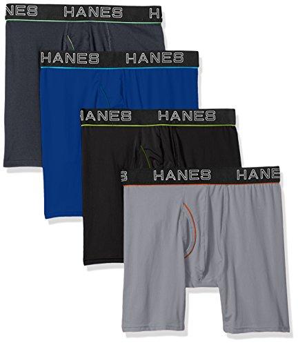 Hanes Men's Boxer Briefs Pack of 4