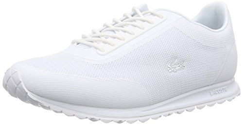 Lacoste Helaine Runner 116 3 SPW, Damen Sneakers, Weiß (White 001), 38 EU (5 Damen UK)