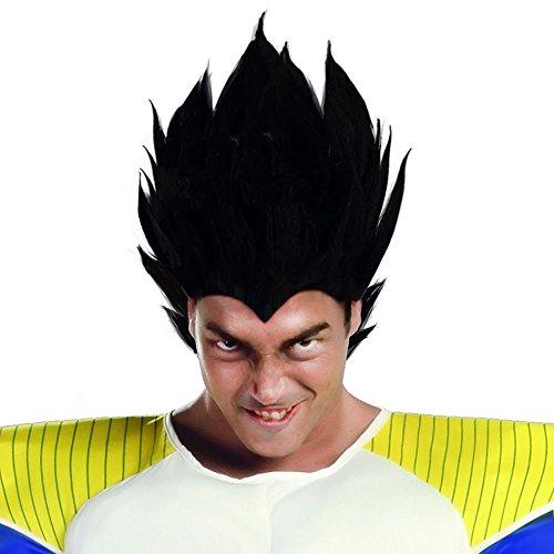 Perücke Vegeto Anime Manga (Vegeta Ball Dragon Kostüm)