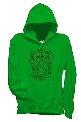 MUSH Sweatshirt Slytherin Harry Potter - Film by Dress Your Style - Damen-XL-Grün