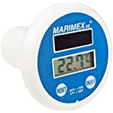 marimex Solar de Piscina Termómetro Digital, Color blanco/azul, 12,5x 10x 18,5cm, 10963012