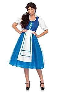 Leg Avenue- Mujer, Color azul, blanco, Medium (EUR 38-40) (85618)