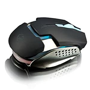 Aroccom Team Scorpion Zealot Souris Laser de Gaming à Led 5000DPI Professional Gaming Mouse