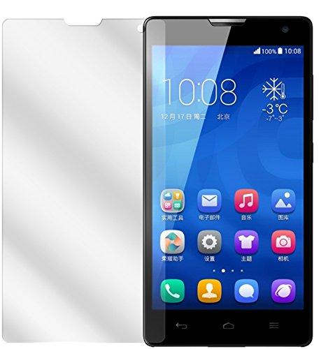 dipos I 6X Schutzfolie klar passend für Huawei Honor 3C Folie Bildschirmschutzfolie