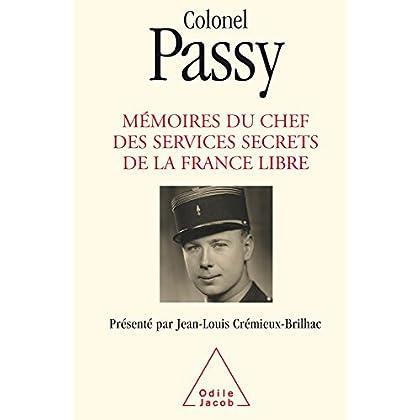 Mémoires du chef des services secrets de la France libre (HISTOIRE ET DOCUMENT)