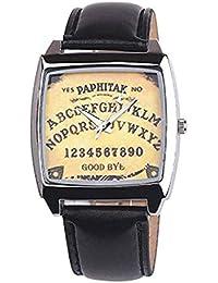 a46ecd04b282 Kaitoly Reloj de Moda. Reloj de Pulsera Unisex Cuadrado