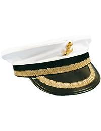 Hut Mütze Weiß Kapitän Kapitänsmütze Seemann Captain Käpt'n Kreuzfahrt Schiff