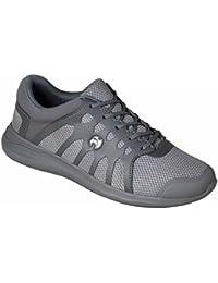 Ladies Henselite HL70 Ultra-Lightweight Lawn Bowling Shoes Grey
