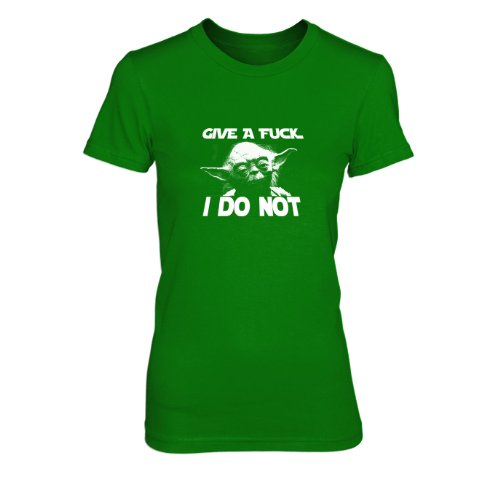 Give a Fuck - Damen T-Shirt Grün