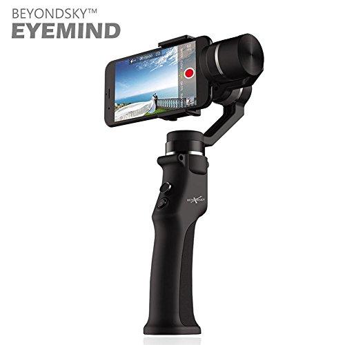 Gimbal mano Estabilizador de cámara 3ejes Handheld Estabilizador para smartphone negro