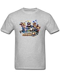 Herren's Clash Royale Game Poster T Shirt XXXXL