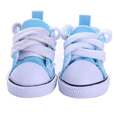 Coomir Puppe Schuhe Mode lässig leinwand Schuhe für 14 Zoll Puppen niedlichen Puppen zubehör - Schuhe Puppe