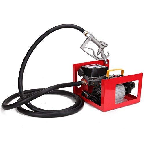 Ridgeyard 60L 3600 L/h Diesel Öl Pumpe Extractor Oil Transferpumpe selbstansaugend Bio Heizöl Diesel Electric Metering 550W 220V -