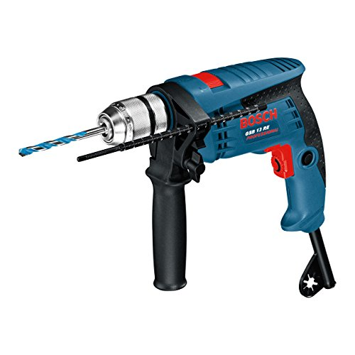 Bosch Professional Perceuse à percussion GSB 13 RE (600W, Couple nominal : 1,8 Nm, Ø de perçage...