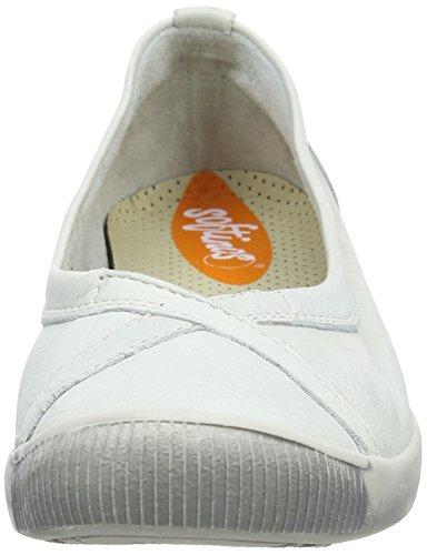 Softinos Damen Ilma Slipper Weiß (White)