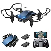 Supkiir S9M Mini Drone, Portable Drone with 720P HD Camera, Pocket RC Quadcopter for Beginners, Kids, Adult