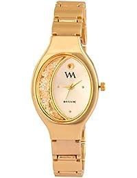 Watch Me Analog White Quartz Watch for Women WMAL-319-Gx