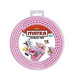 Mayka Tape Zuru Spielbaustein-Klebeband Selbstklebend – 2 Pins – Rosa – 2 Meter