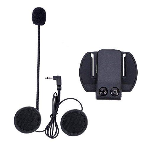 EJEAS Motocycle interfono microfono + casco,tuta per V4/V6 Motocycle Bluetooth Interphone