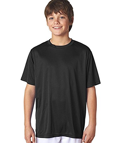 A4 Youth Cooling Performance Crew Short Sleeve Tee (Sleeve Performance Tight Top Short)