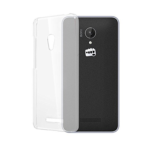 Transparent Back Cover For Micromax Canvas Spark Q380- Transparent TPU Silicon Back - By MVS
