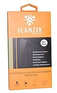 SLANZER Brand Premium Quality Tempered Glass Screen Protector for Samsung Core Prime Mobile (SZT CorePrime G516)