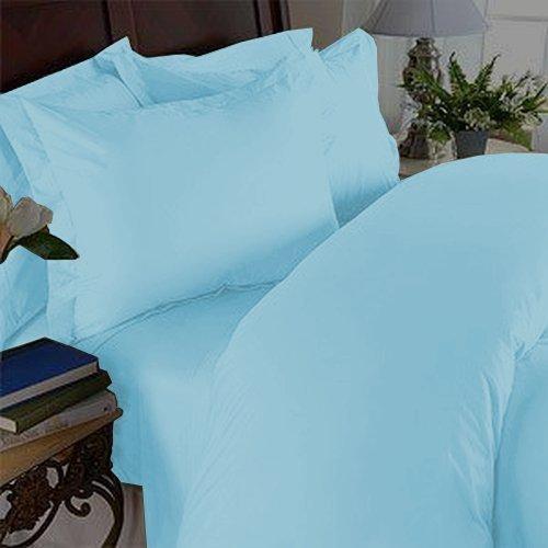 Eleganten Komfort 1500Fadenzahl Knitterfrei Ägyptische Qualität 3-Teiliges Bettbezug Set, Aqua, Full/Queen Duvet Set (Aqua-duvet-set)