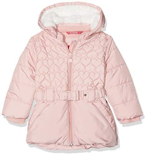 s.Oliver RED LABEL Unisex - Baby Wintermantel mit Schleifengürtel light pink 86