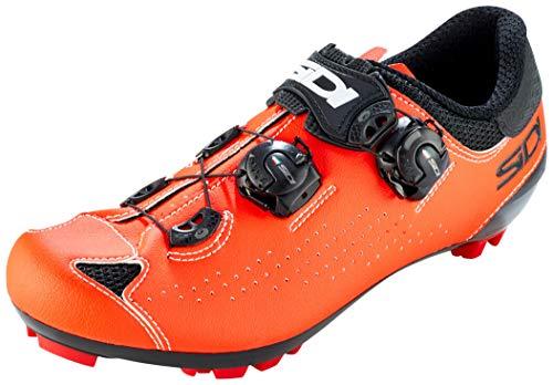 Sidi MTB Eagle 10 Schuhe Herren Black/red Fluo Schuhgröße EU 42,5 2020 Rad-Schuhe Radsport-Schuhe