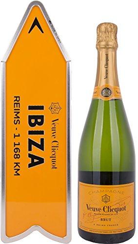 Veuve Clicquot Brut Yellow Label Arrow Box Edition mit Geschenkverpackung Champagner (1 x 0.75 l)
