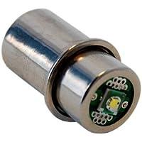 HQRP Lampadina a LED di alta potenza 3W per Maglite 3D 4D 5D 6D / 3C 4C 5C 6C cellule Torcia