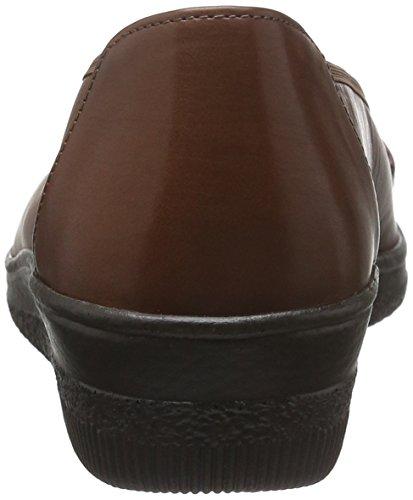 Gabor Shoes Comfort Basic, Mocassini Donna Marrone (Castagno 23)