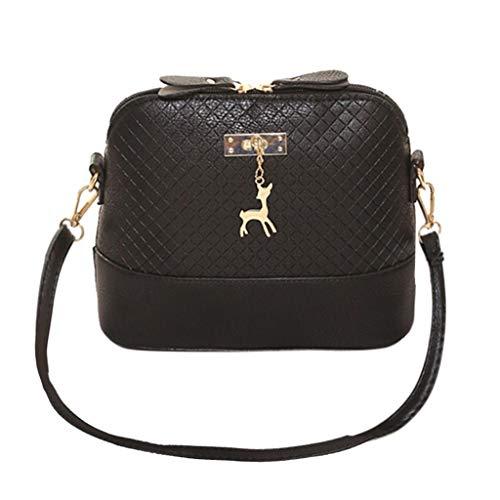 YueLove Faux Leather Handbags for Women Large Designer Fashion Ladies Shoulder Bag Bucket Crossbody Handbag Moderner Radfahren Wanderrucksack Trekkingrucksack