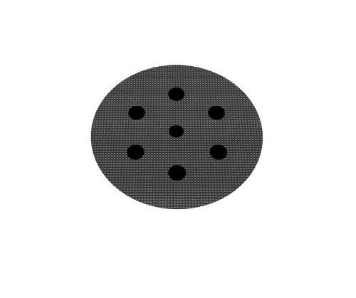 Schutzauflage Ø 75mm 6-Loch (Festool) für Schleifteller Polierteller Stützteller für Klett-Schleifscheiben - DFS