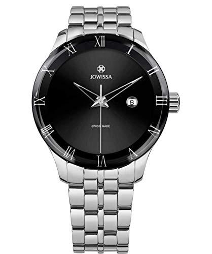 Jowissa Romo Swiss J2.166.L - Reloj para Hombre, Color Negro y Plateado