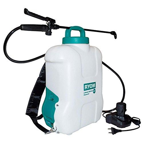 Ryom 404-178 Akku-Drucksprüher Rückenspritzgerät 10 Liter mit 12V LI-Akku