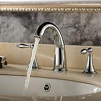 BASCJ ottonerubinetto del bagno,Valvola di ceramica contemporanea / Modern due