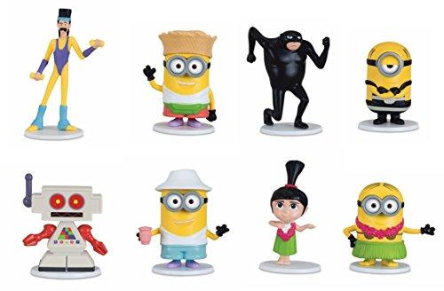 MTW Toys 20017–Figuras Set, GRU–Mi Villano Favorito 3, 8Piezas