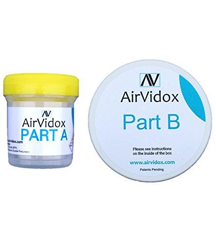AirVive Airvidox - Eliminador de olores de coche: elimina humo de cigarrillos, olor de perro, vómitos, etcMata pulgas, bichos y ácaros.Destruye microbios.