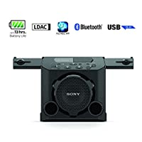 ‏‪Sony GTK-PG10 | Outdoor Wireless Party Speaker with built-in Battery | Boombox | PG10 - Black‬‏