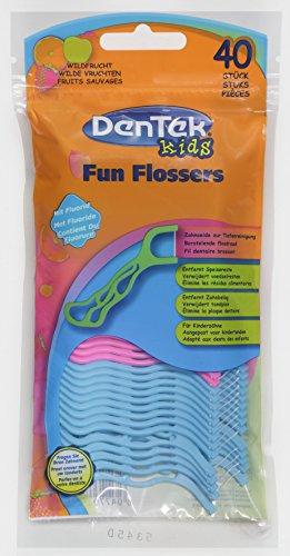 Dentek Fun Flossers, 3er Pack(3 x 40 Stück)